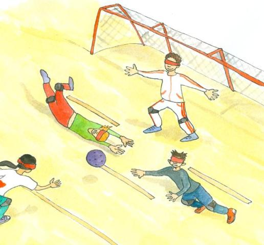 Goalball detail