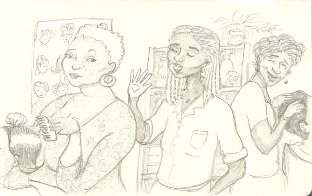 Sketch Hair salon