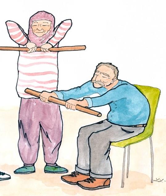 Exercise for older folks