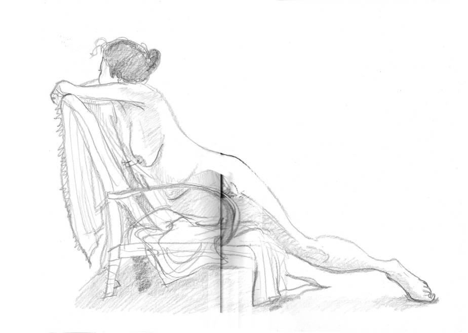 Life drawing, badscanning