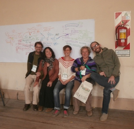 With the ECOSUR team post-workshop
