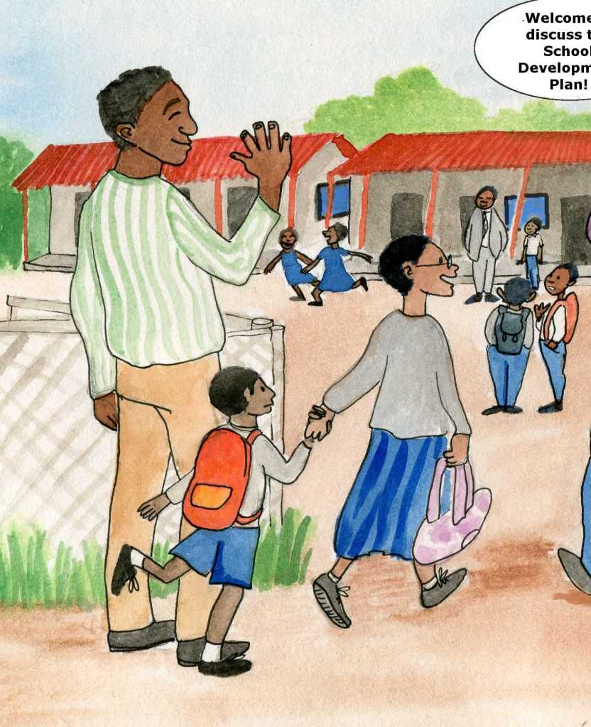 school gates parent