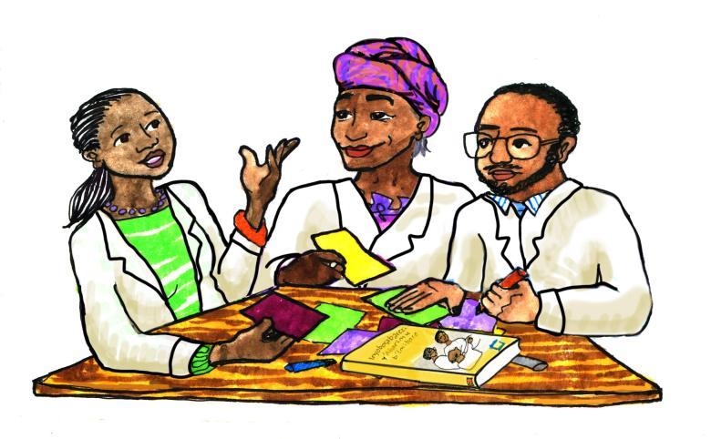 Teacher CoP labcoats book